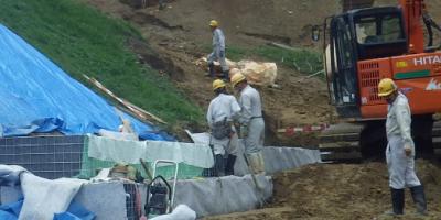 地すべり防止工事
